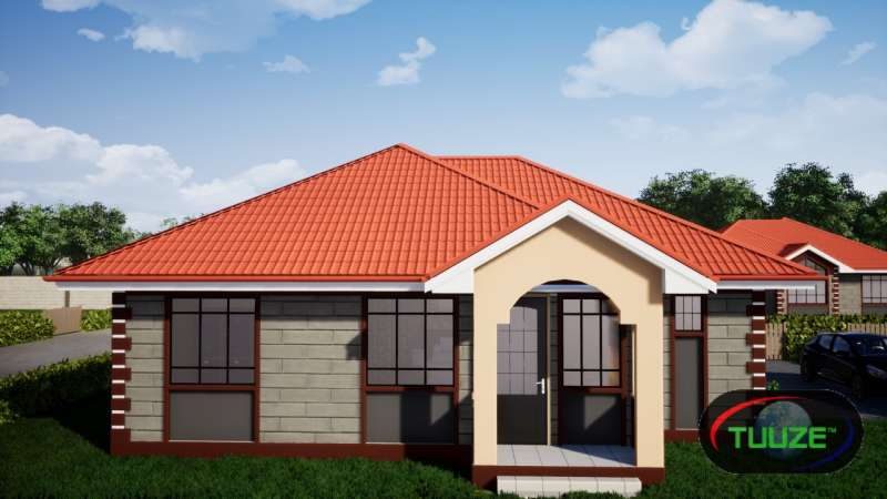 3 bedroom bungalow master ensuite