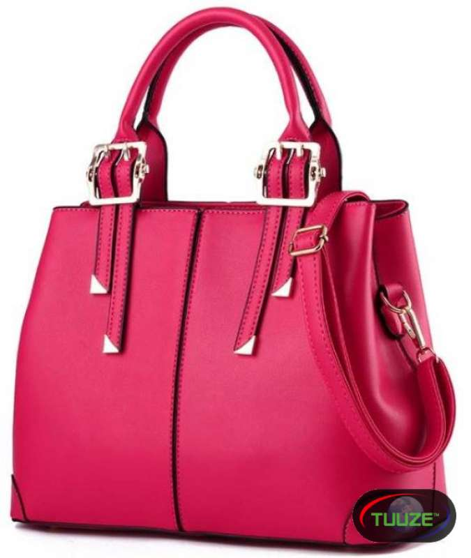 PU Leather Single Handbag