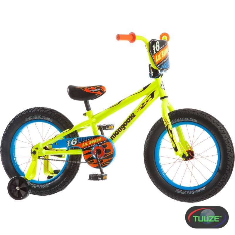 16 quot  Mongoose Lil Bubba Boys  Fat Tire Bike