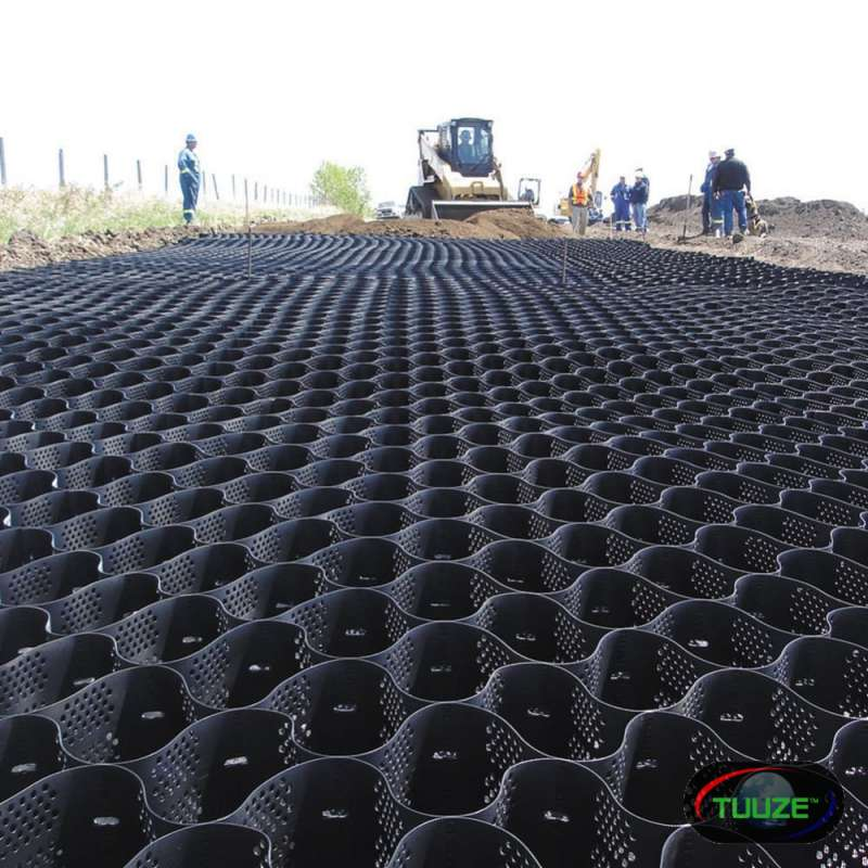 3D HDPE Geoweb Geocells for Erosion Control Slope