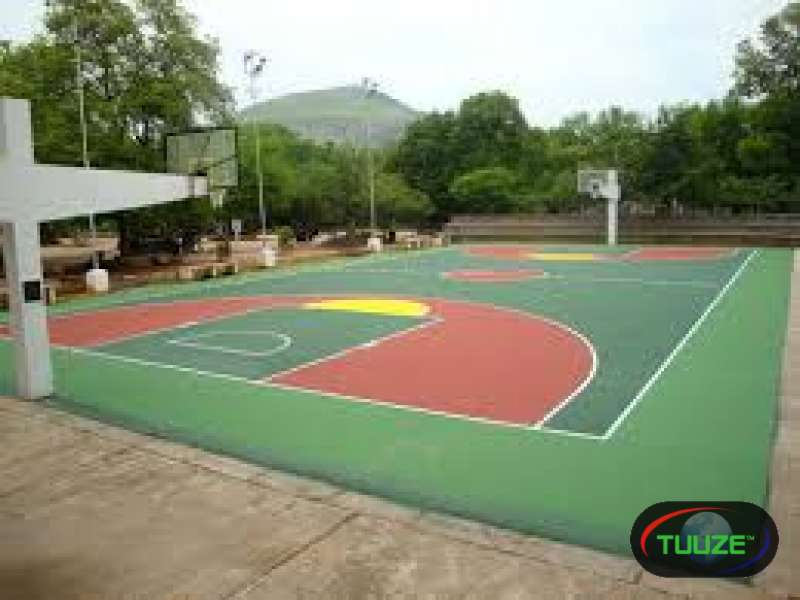 Acrylic sports surfaces
