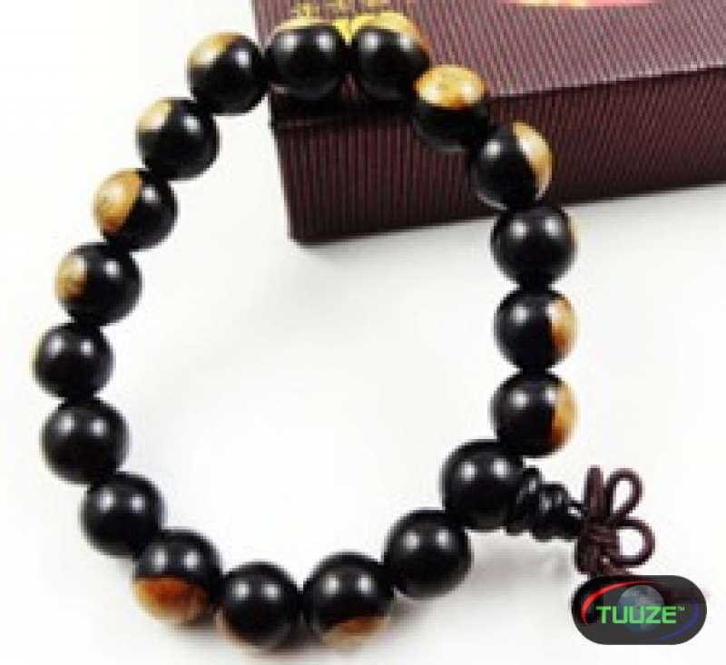 Brown Cream Shamballa Bracelet