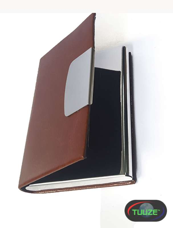 Brown Customized card holder