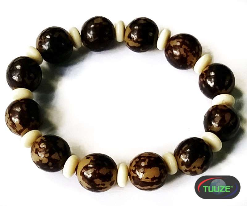 Brown with Cream Dividers Shamballa