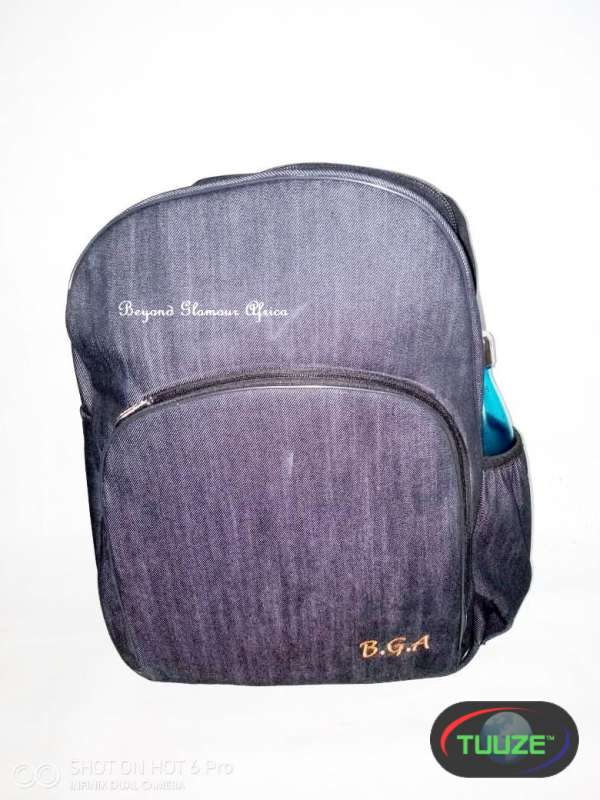 Denim Laptop Backpack