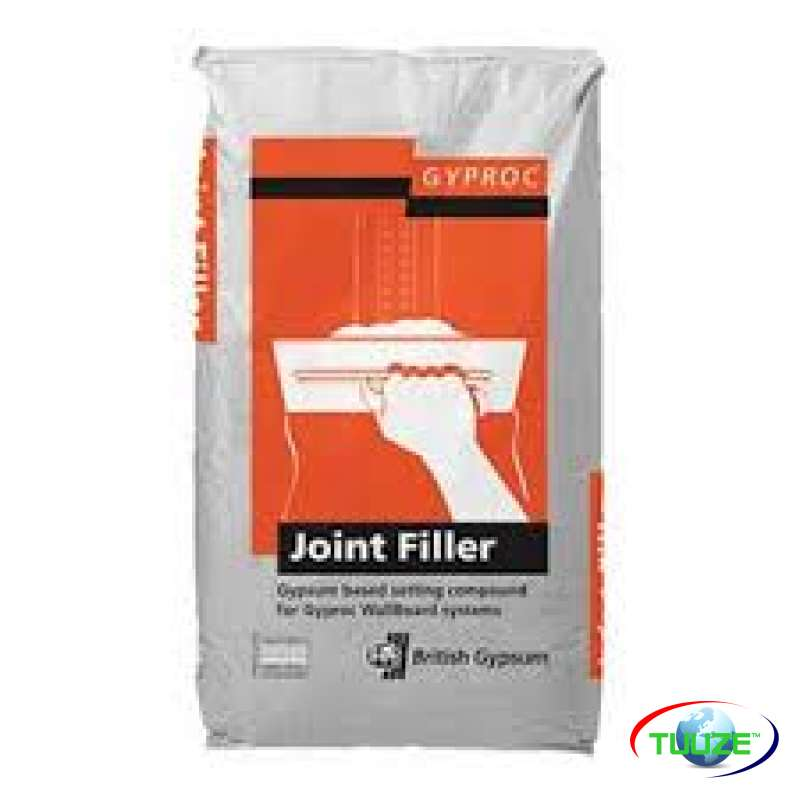 Gypsum filler for walls and ceilings