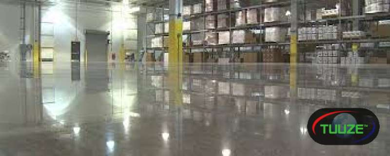 Industrial and commercial floor coating
