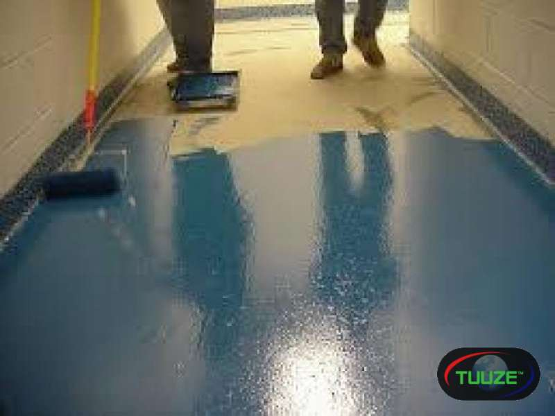 Industrial and commercial floor coating services i