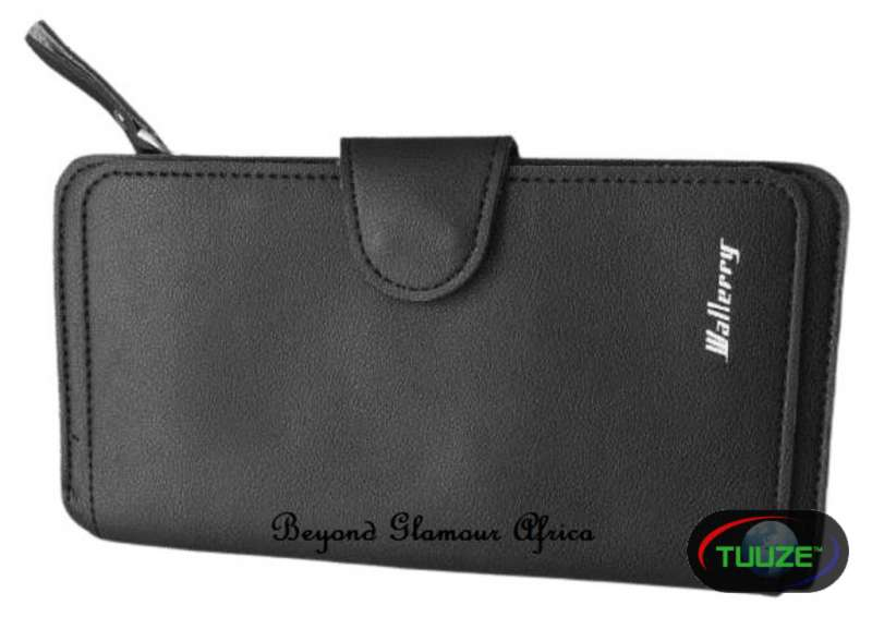 Ladies Black Large leather wallet