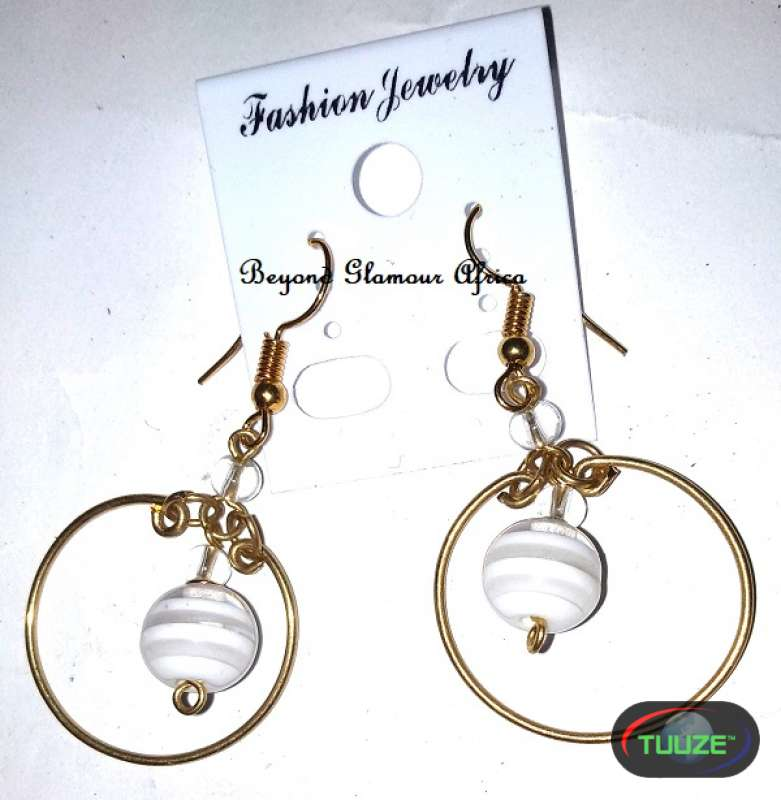 Ladies Brass Loop earrings