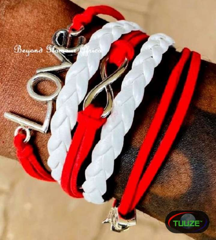 Multi Layered Leather Bracelet