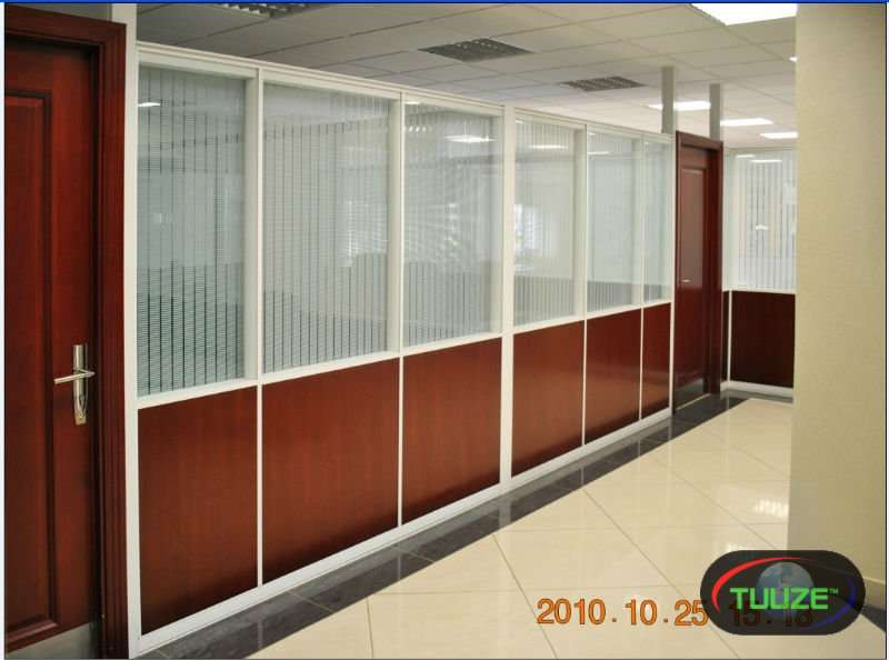 Office partition     gypsum  aluminum  MDF  glass pa