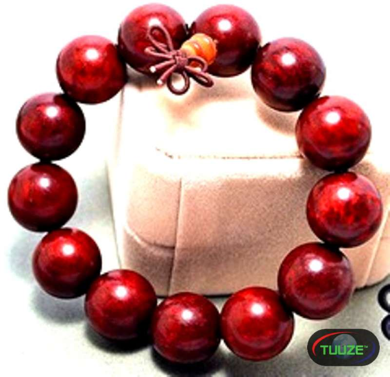 Red Beaded Shamballa Bracelet