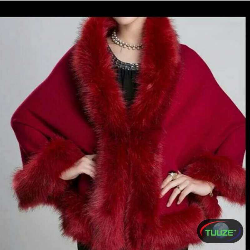 Red Fur Coverup