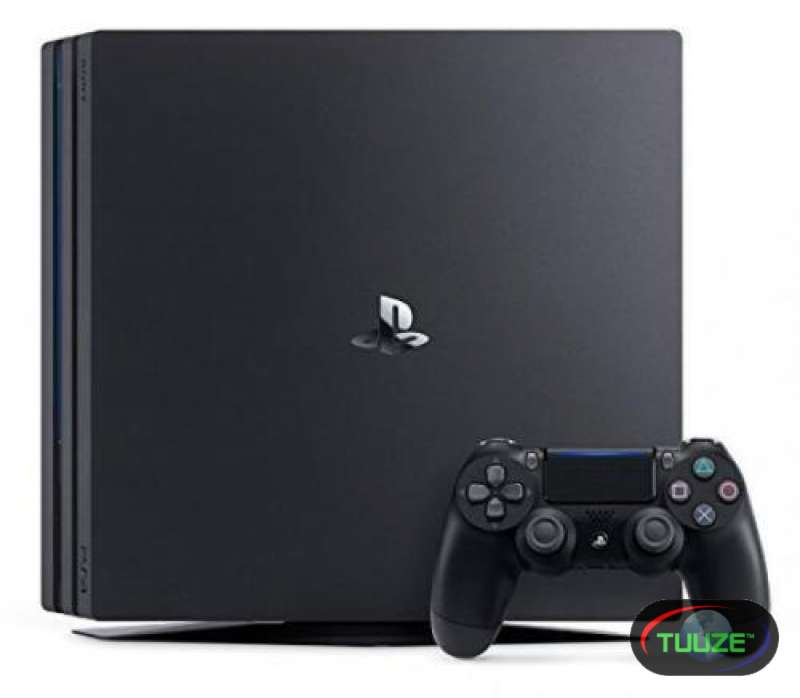Sony PlayStation 4 Pro 1000gb Jet Black Console