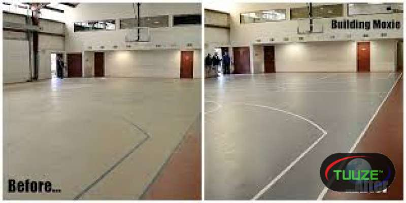 Sports Court Repainting services