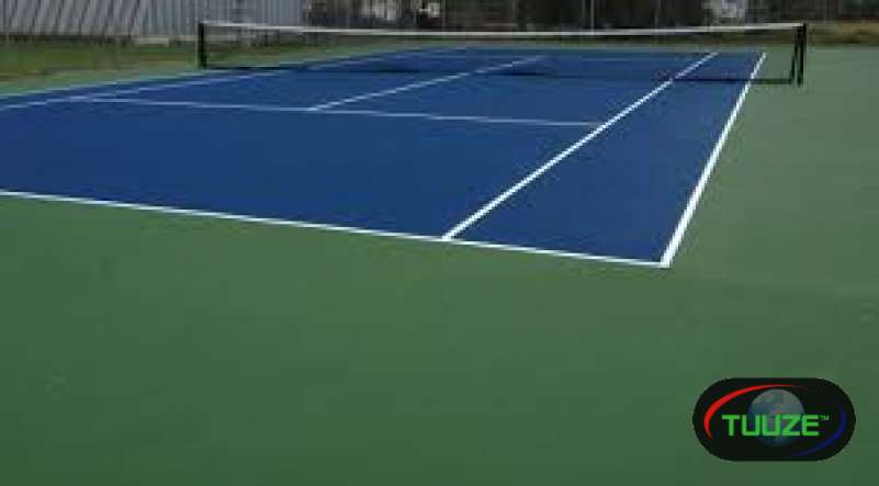 Tennis court resurfacing services
