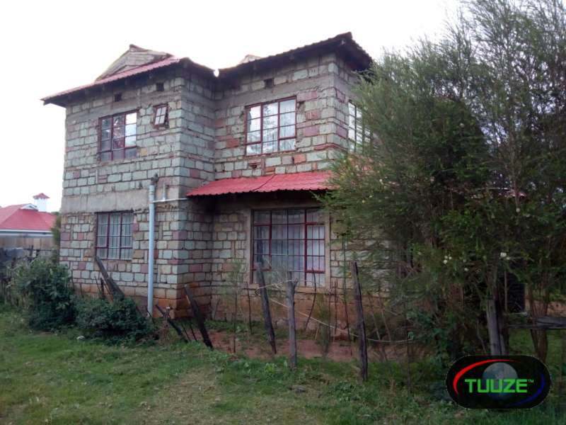 Uncompleted double Storey on sale in Eldoret