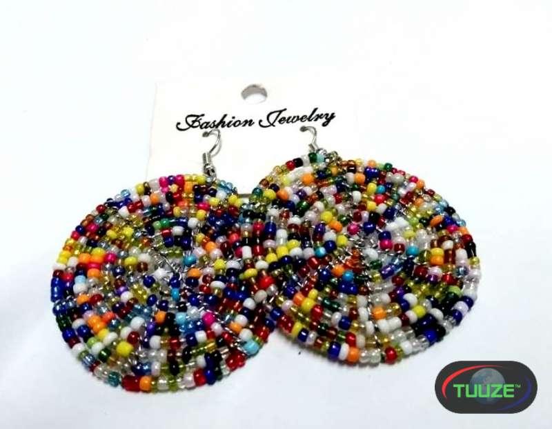 Womens Multicolor beaded maasai