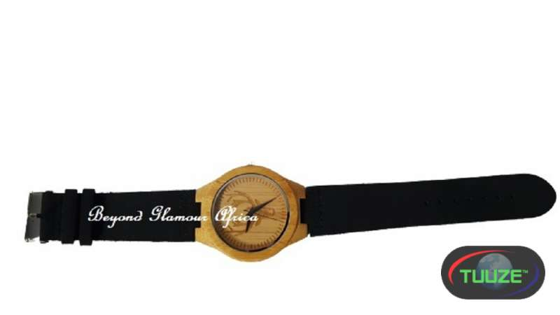 Wooden watch analog lightweight handmade