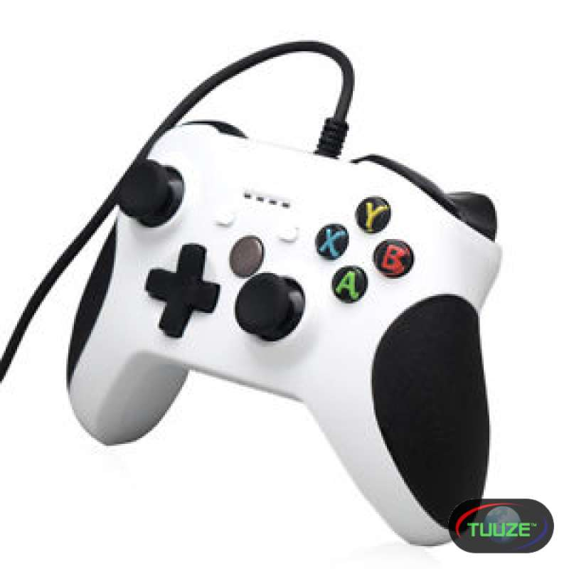 Xbox one s original wired white gamepad