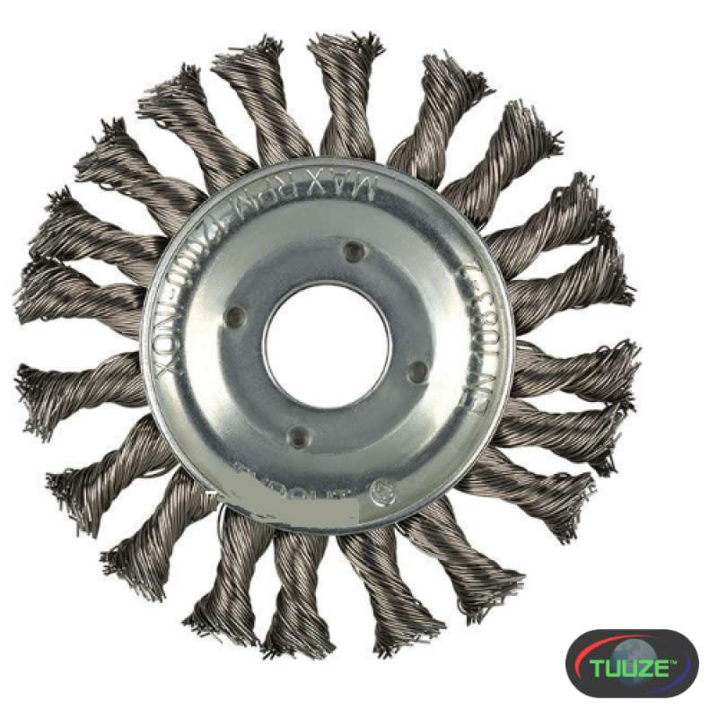 circular grinding wire brush