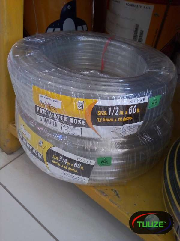 clear PVC water tubing