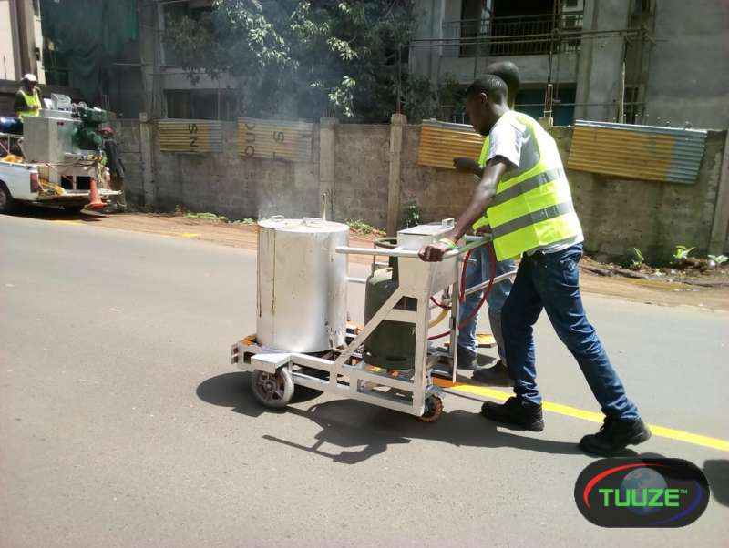 road marking machine for hire